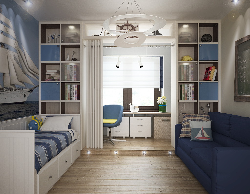 Интерьеры комнаты для мальчика 12 лет 144