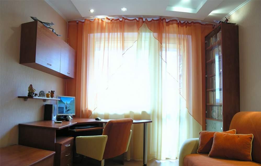 """Дизайн комнаты 2.5 на 5.5 с балконом """" улетный дизайн."""