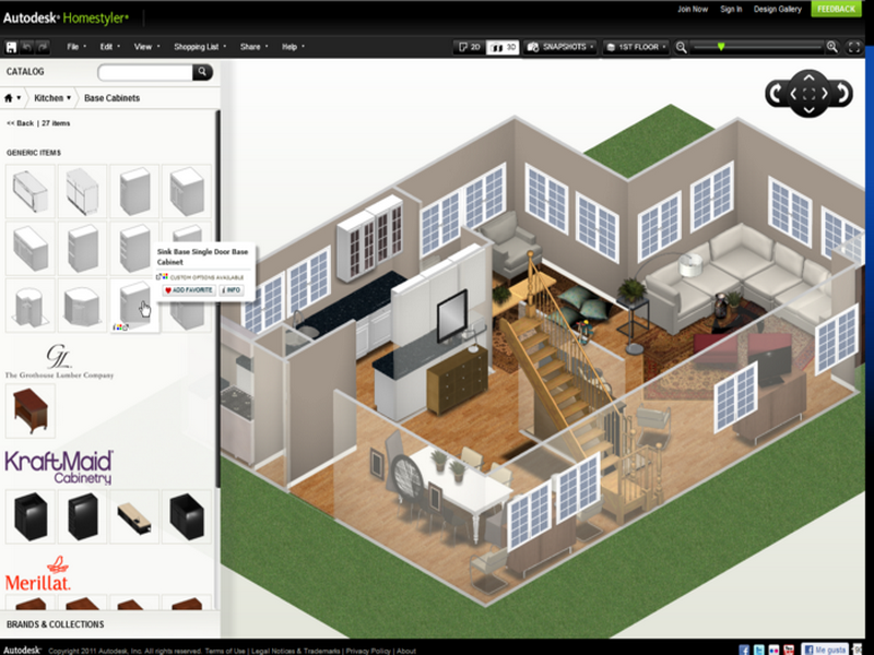 3d house models online for Virtual room arranger