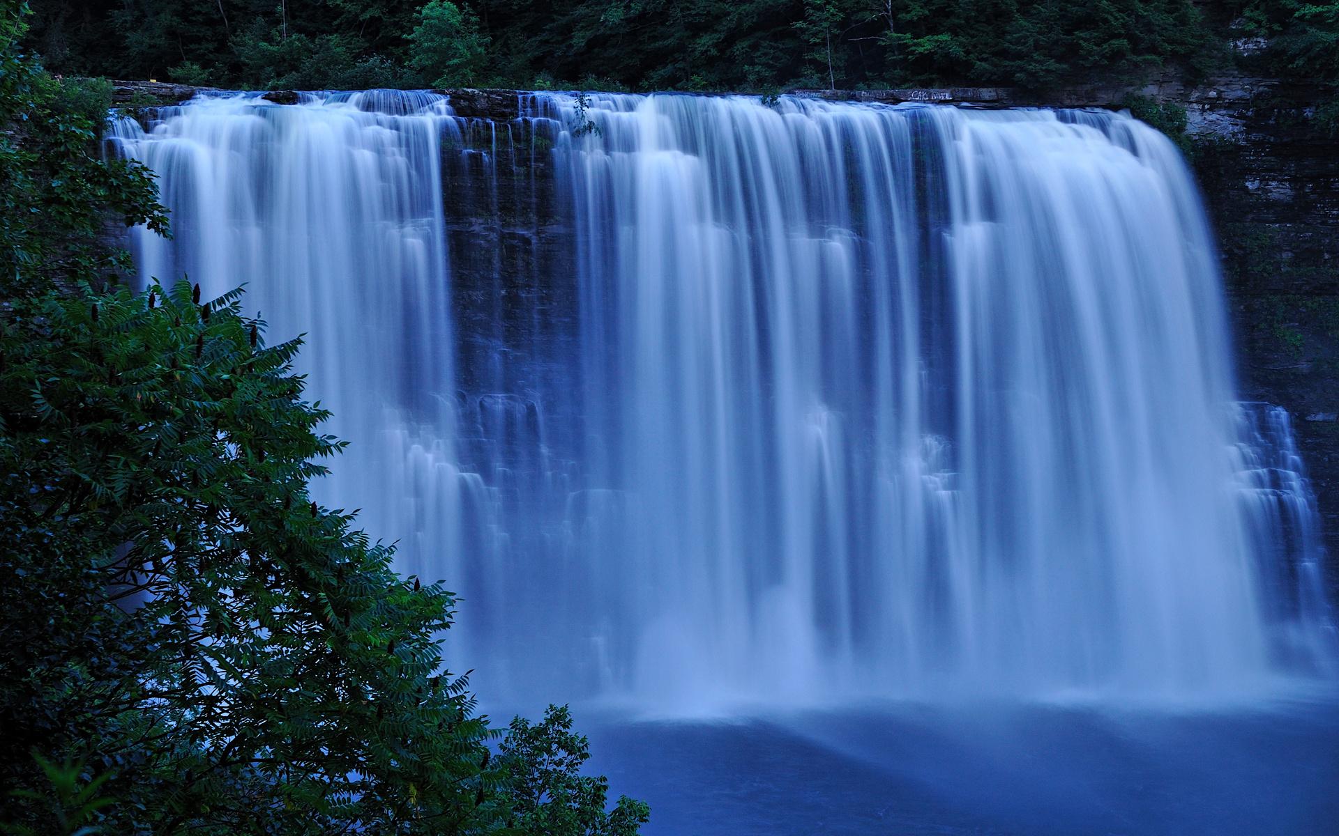 Картинки живые с водопадами