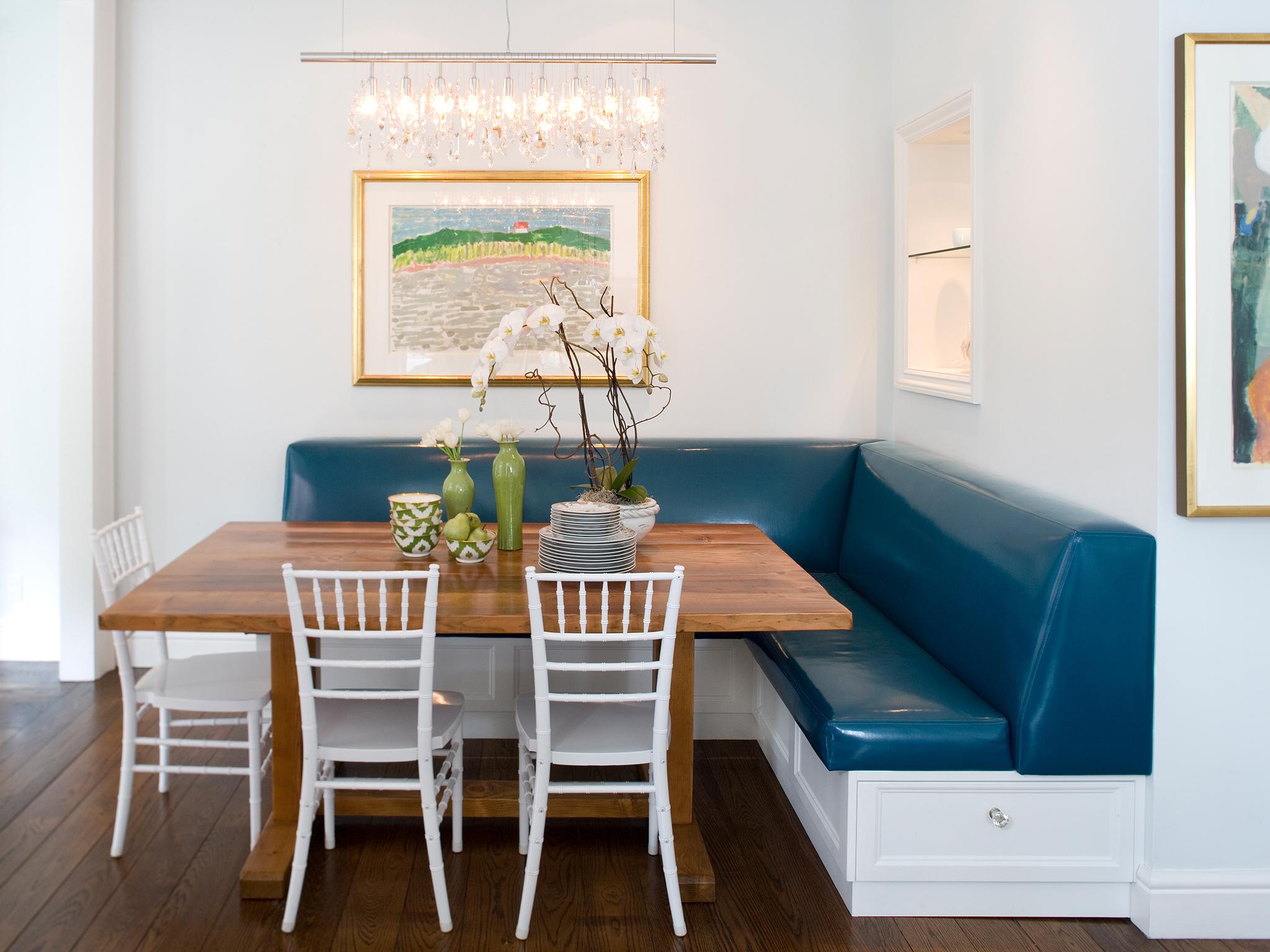 Обеденная зона на кухне: расположение стола, идеи дизайна ин.