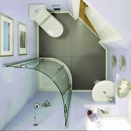 Дизайн маленькой ванной комнаты идеи советы рекомендации: Интерьер маленькой ванной комнаты без унитаза с душевой