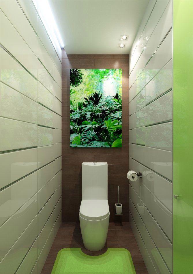 Дизайн маленького туалета: варианты отделки