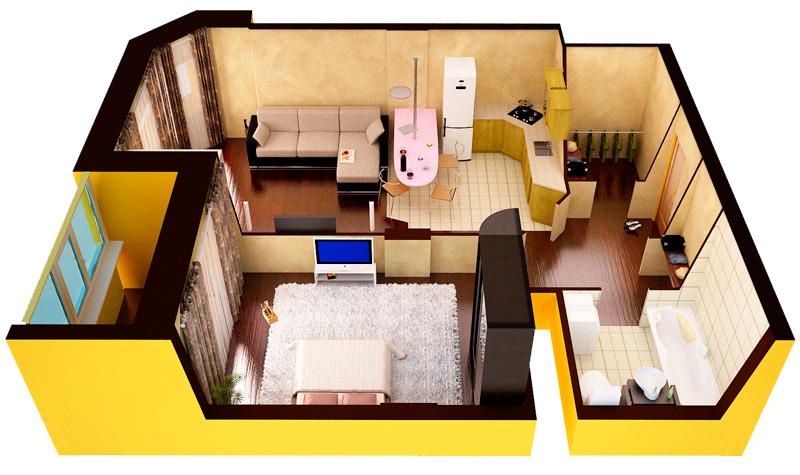 Хочу сделать перепланировку квартиры