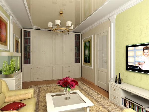 Ремонт в гостинной с соедененой лоджией в панельном доме фото.