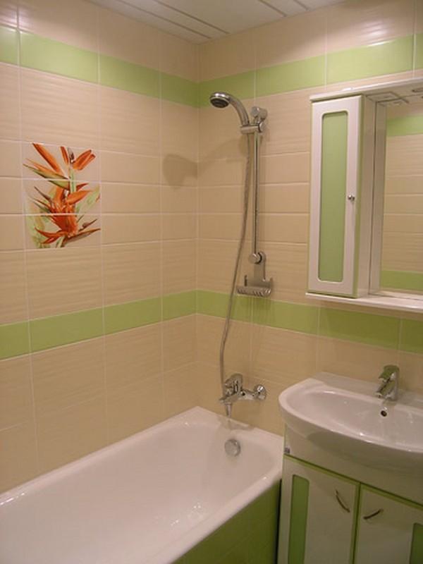 Ванная комната дизайн в квартире маленькой хрущевке