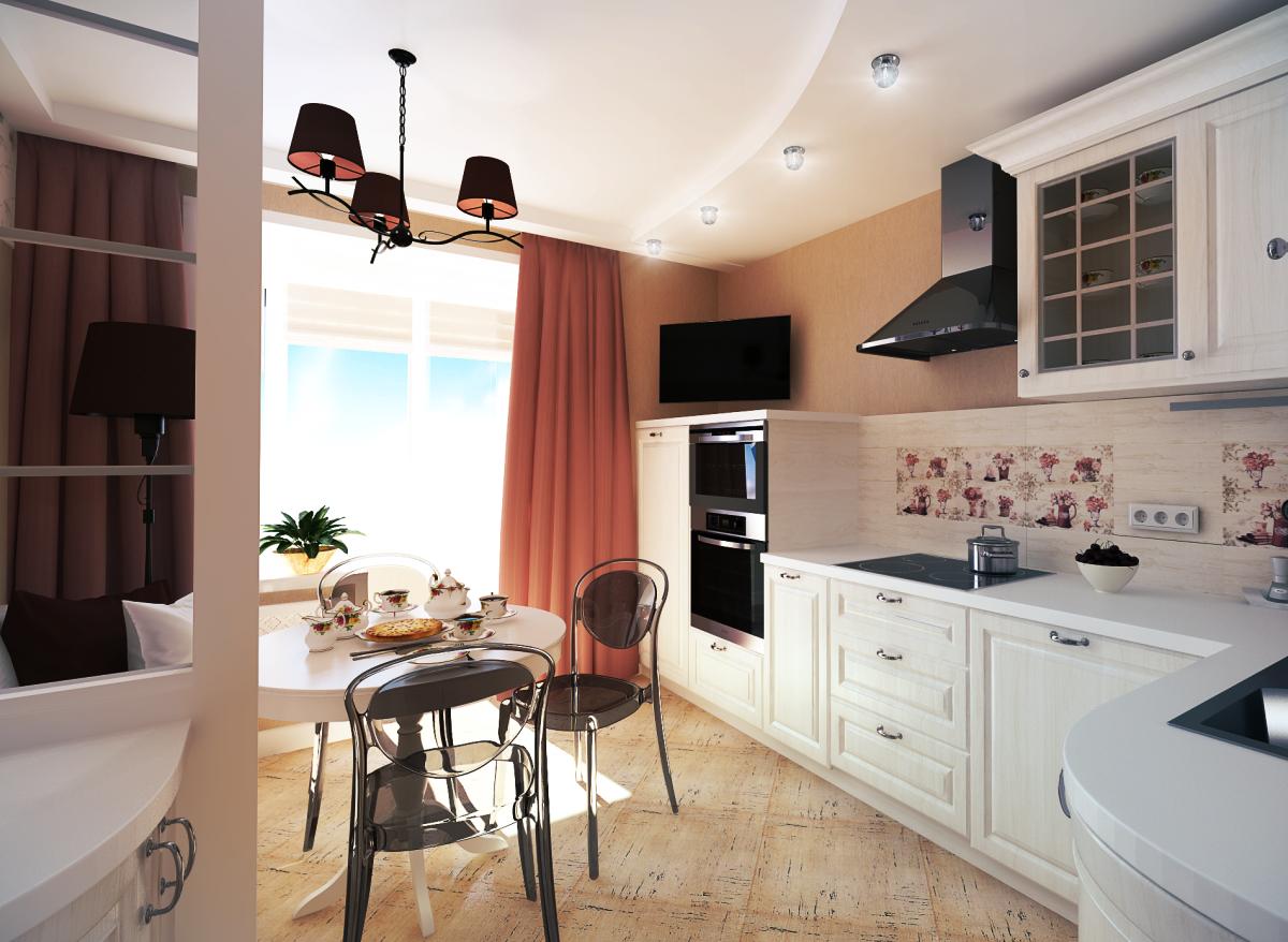 Дизайн кухни 10 кв м.