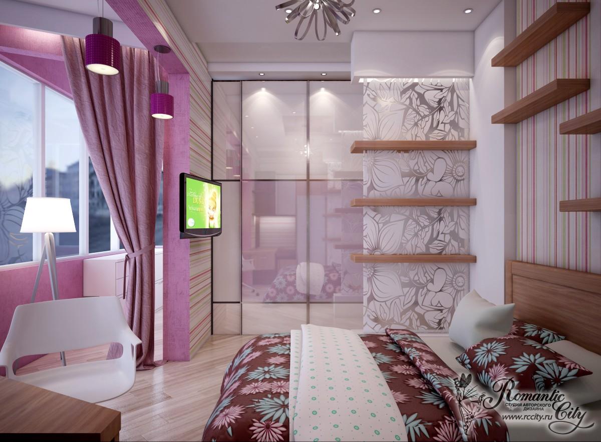 Замечательные идеи совмещения комнаты и лоджии.
