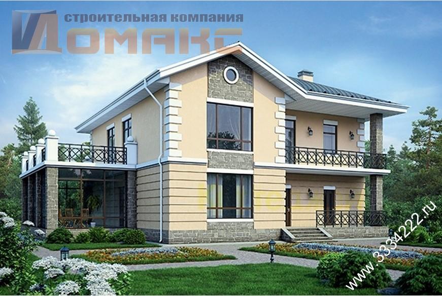 Проекты домов и коттеджей с зимним садом.