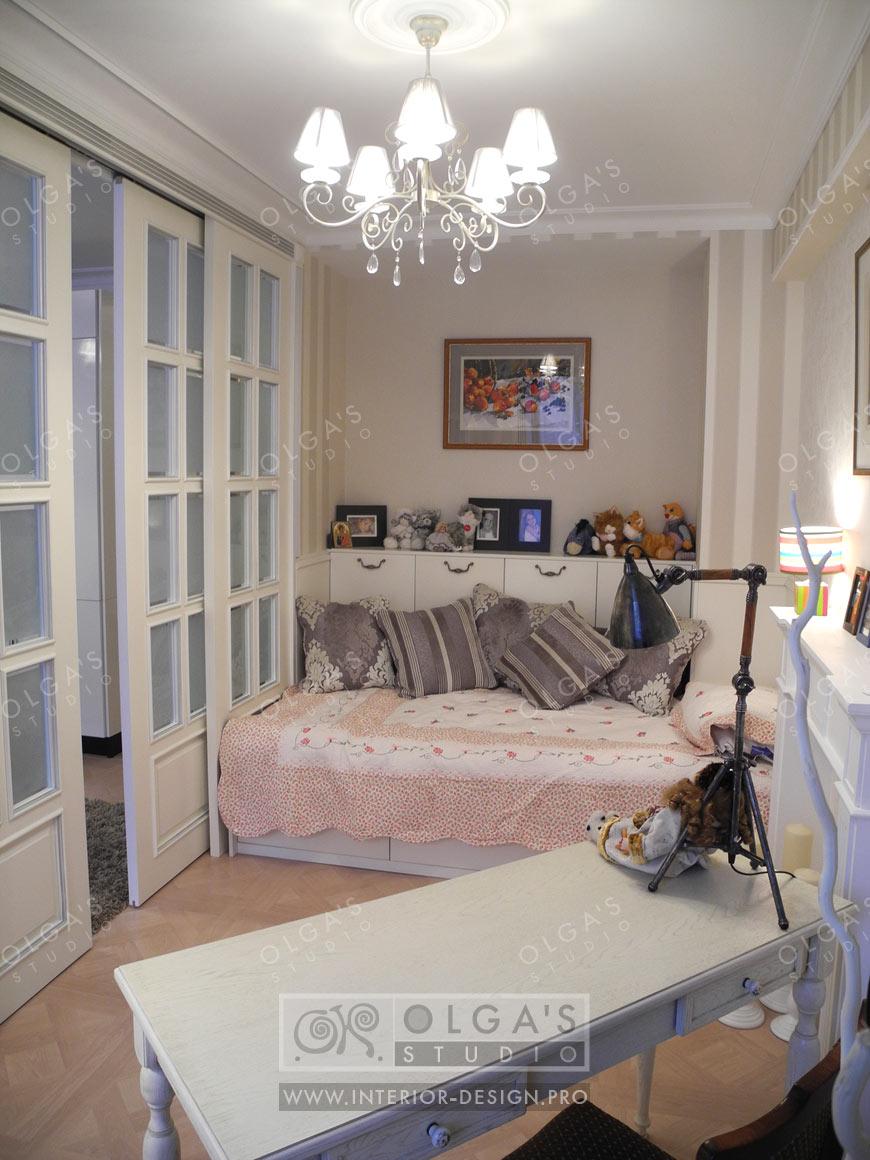 Как разместиться семье с двумя детьми в однокомнатной квартире в 44 39