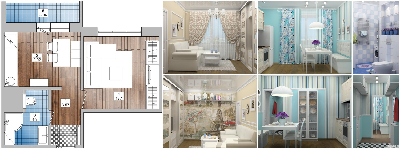 готовые дизайн проекты квартир фото
