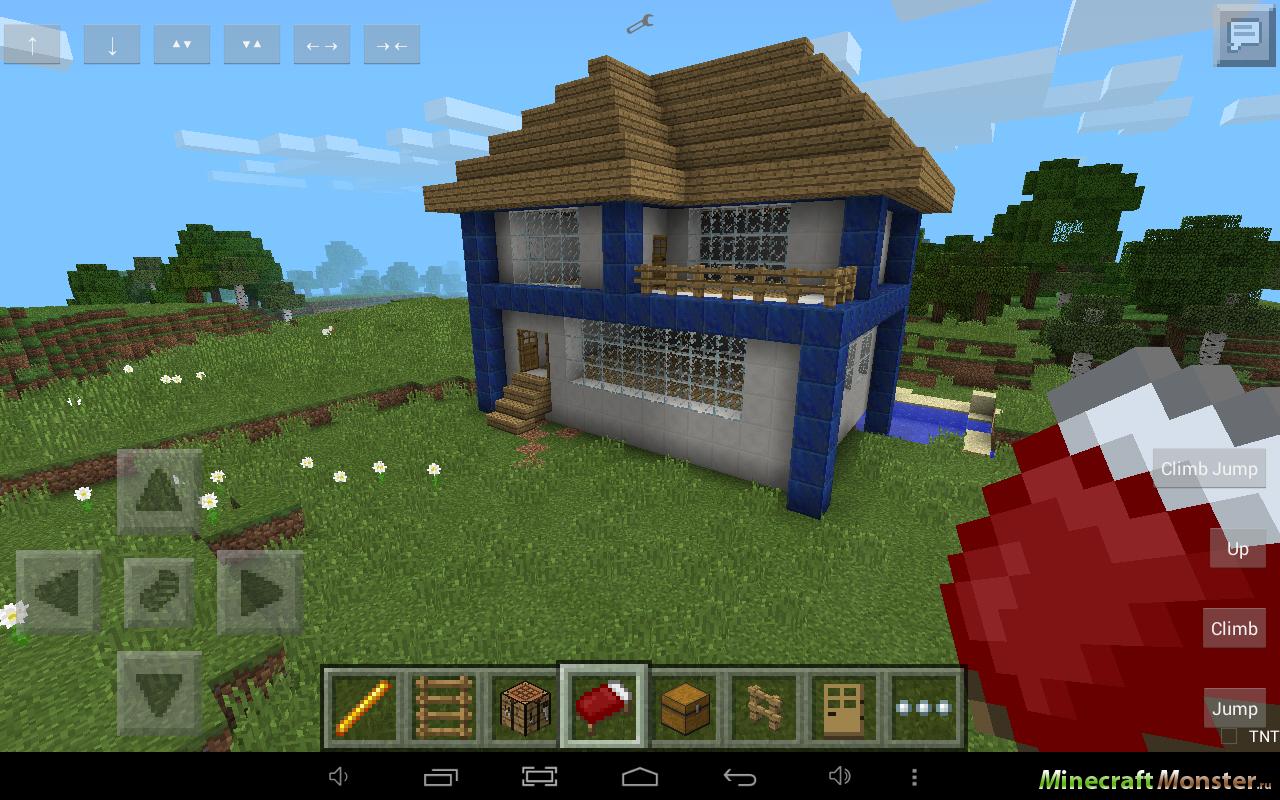 майнкрафт пе как построить дом фото #3