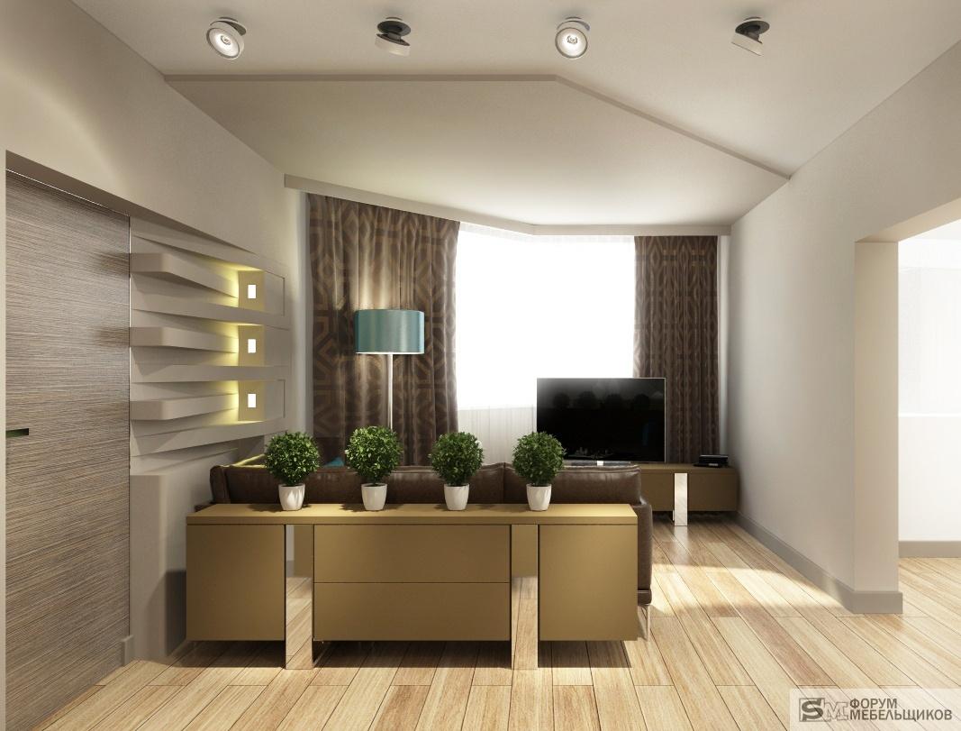 """Дизайн 3-х комнатной квартиры 103 серии """" картинки и фотогра."""