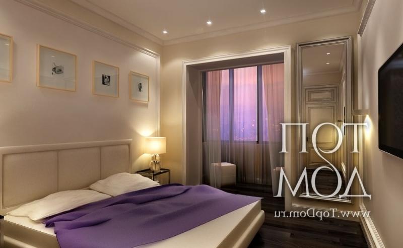 """Дизайн спальни 12 кв.м с балконом """" картинки и фотографии ди."""