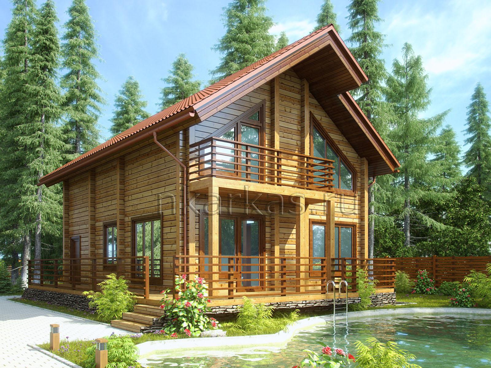 """Оригинальный проект загородного дома """"косилия"""" избаделюкс."""