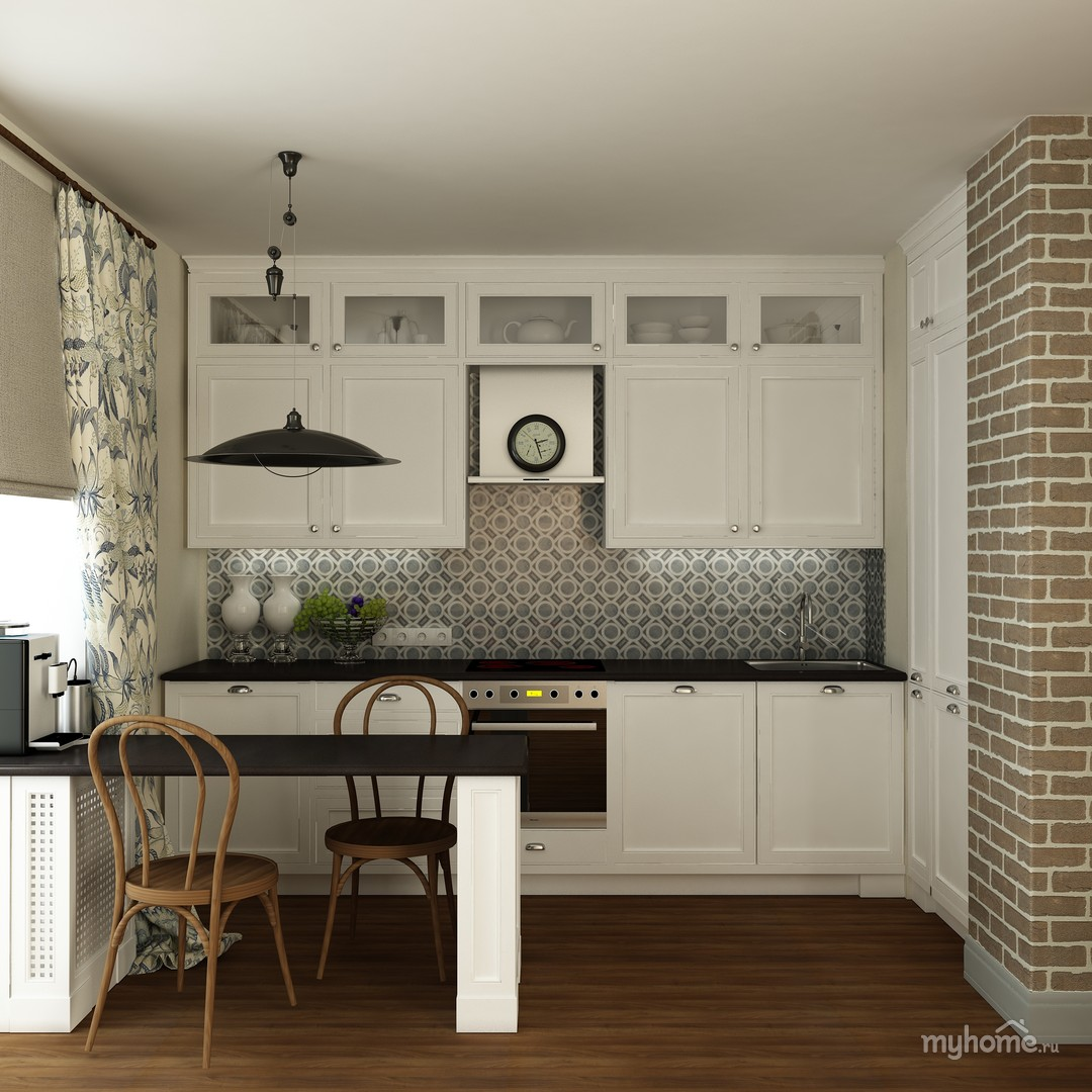 Дизайн проект маленькой квартиры в стиле модерн в г: Скандинавский дизайн однокомнатной квартиры » Картинки и