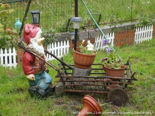 Украшение сада или дачи своими руками из 26
