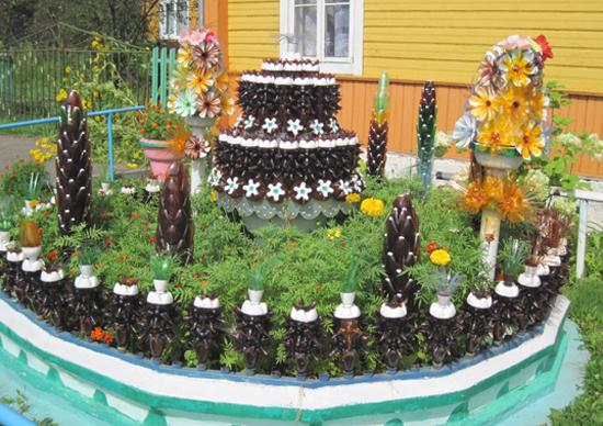 Украшение сада или дачи своими руками из 29