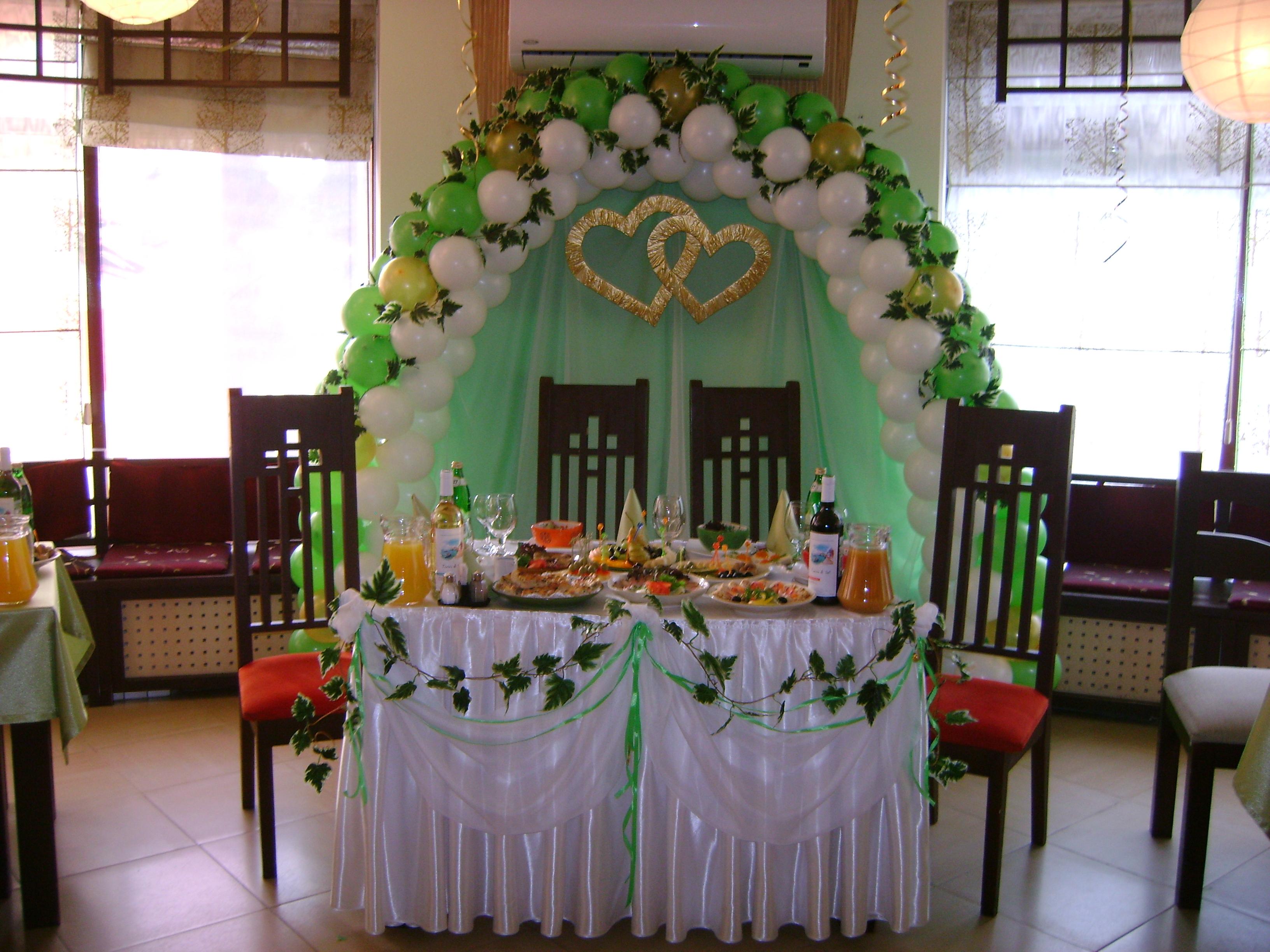 Оформление стола невесты своими руками фото 513