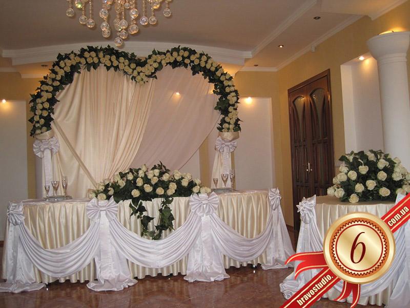 Оформление стола невесты своими руками фото 327