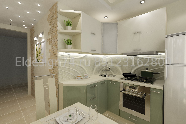 фото кухни в панельных домах