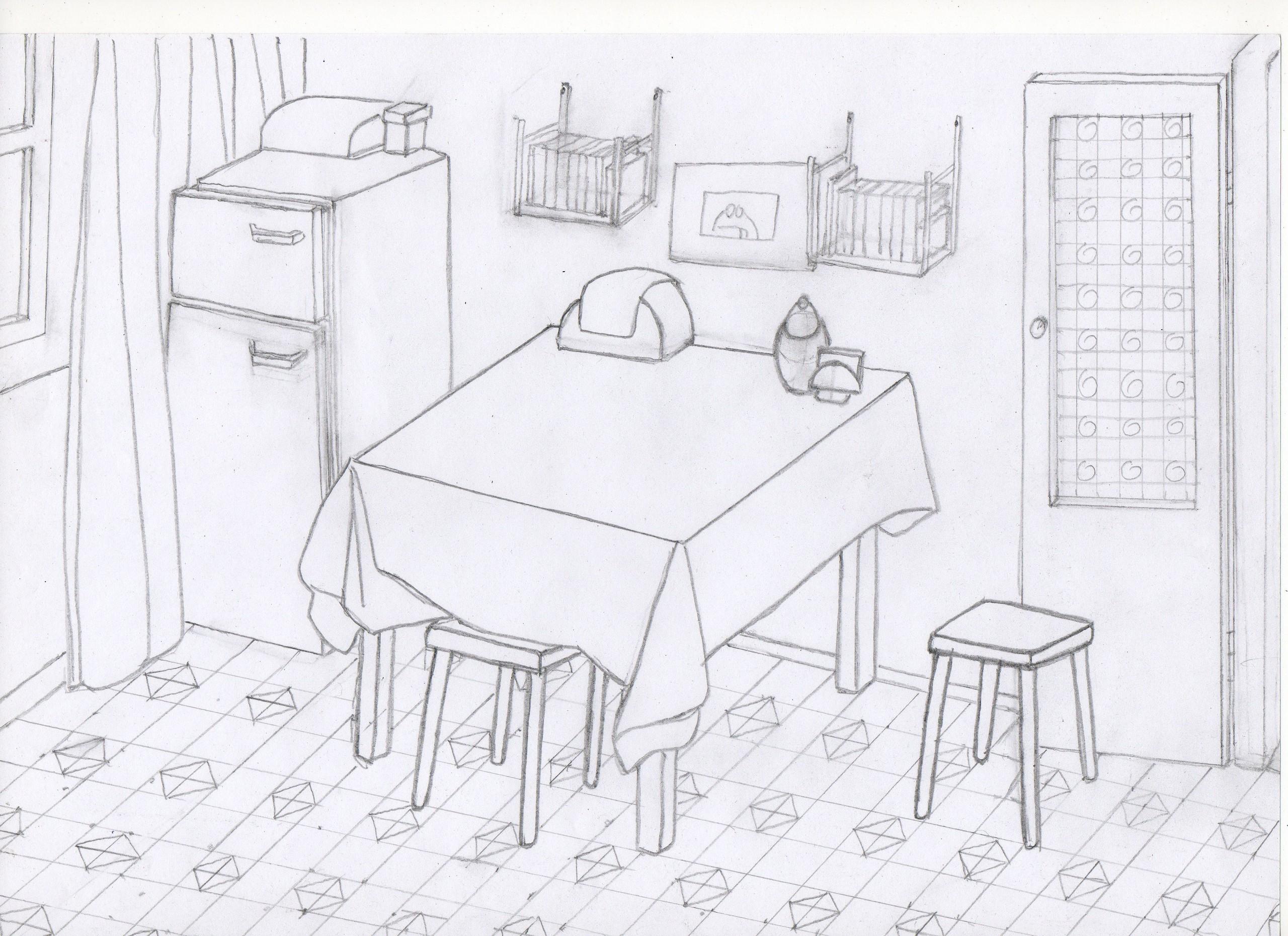 интерьер комнаты рисунки карандашом картинки и фотографии дизайна