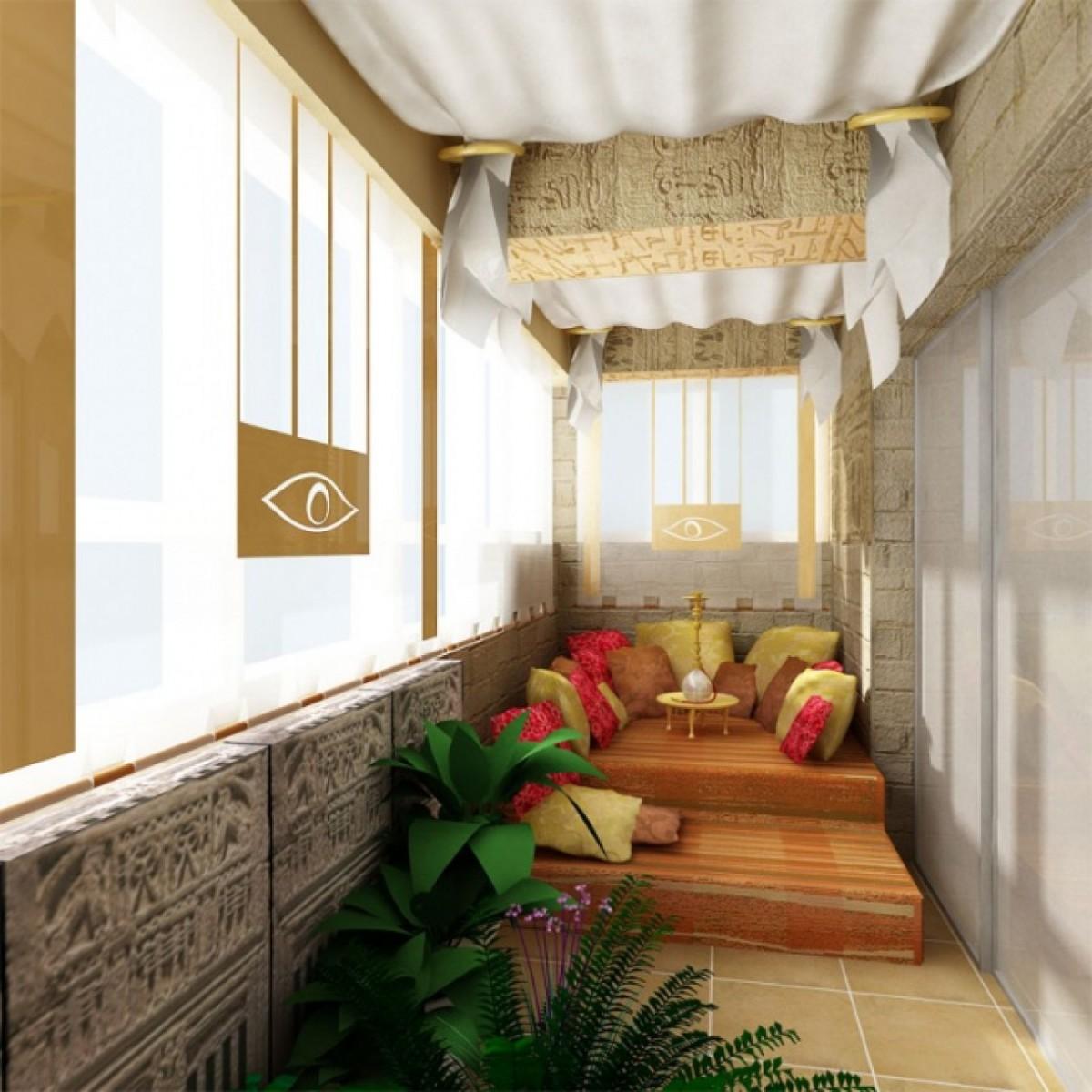 """Как превратить маленький балкон в уютное место для отдыха """" ."""