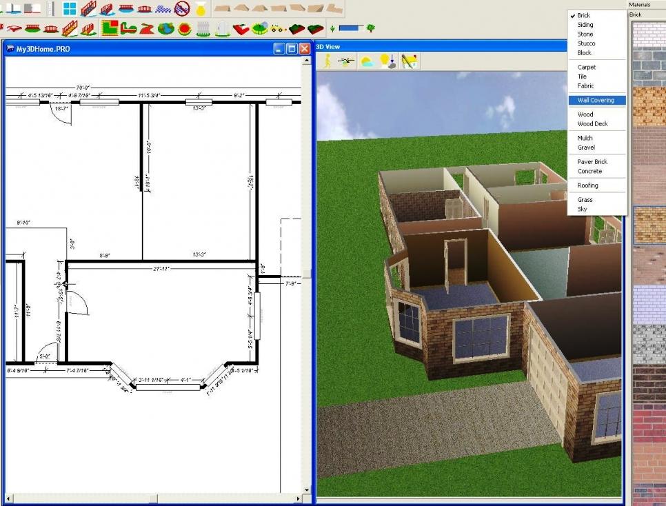 Скачать 3d проект дома программа