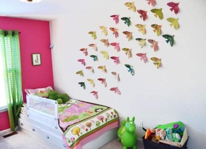Объёмный декор стен своими руками фото 606