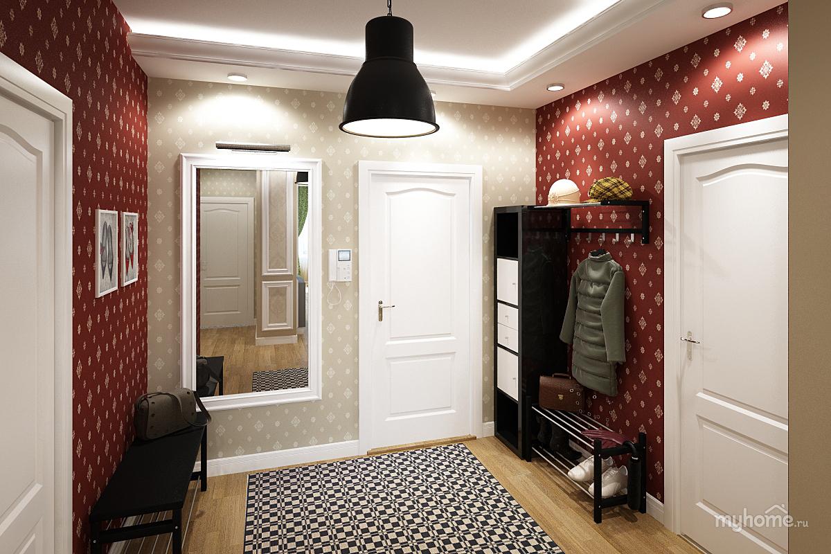 Обои для прихожей и коридора фото идеи для квартиры.