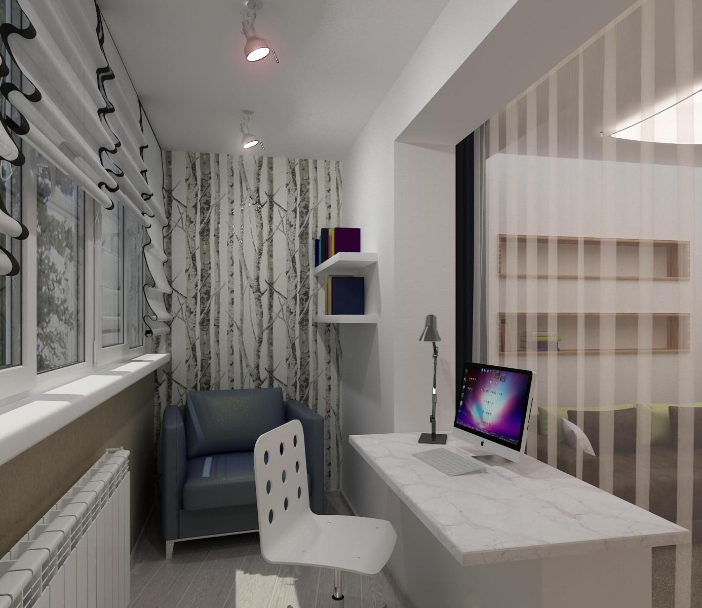 "Дизайн интерьера однокомнатной квартиры 33 кв.м "" картинки и."