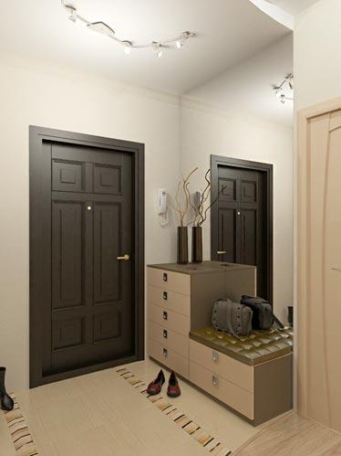Дизайн прихожей в квартире-студии