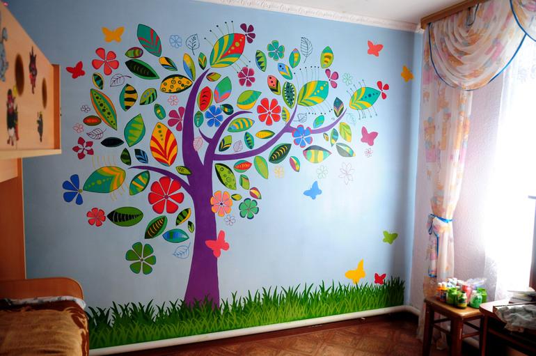Оформление детского сада своими руками бесплатно 178