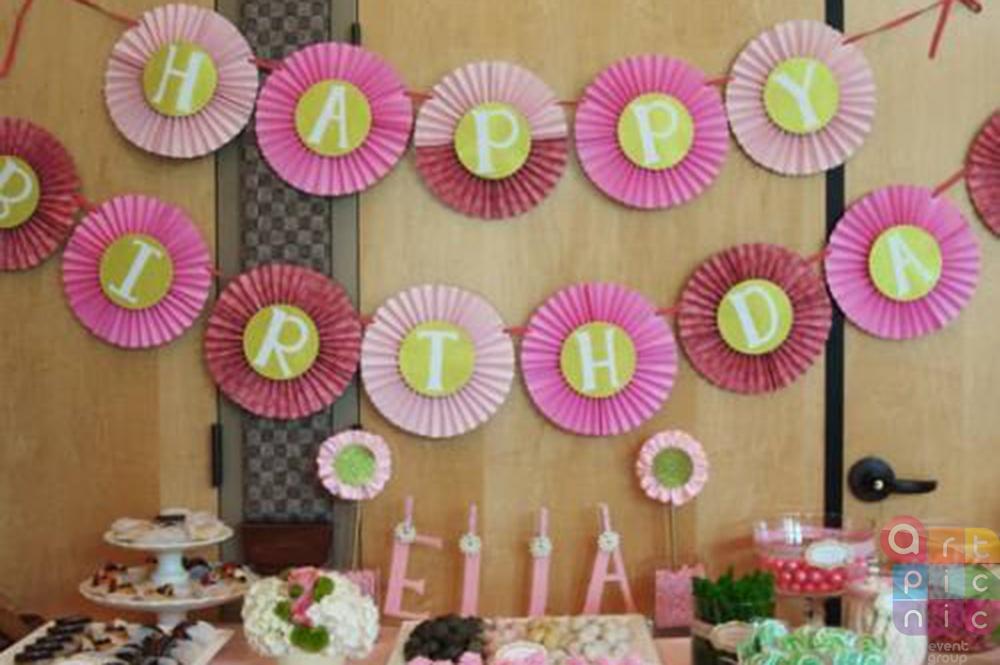 Как украсить комнату на день рождения своими руками 73