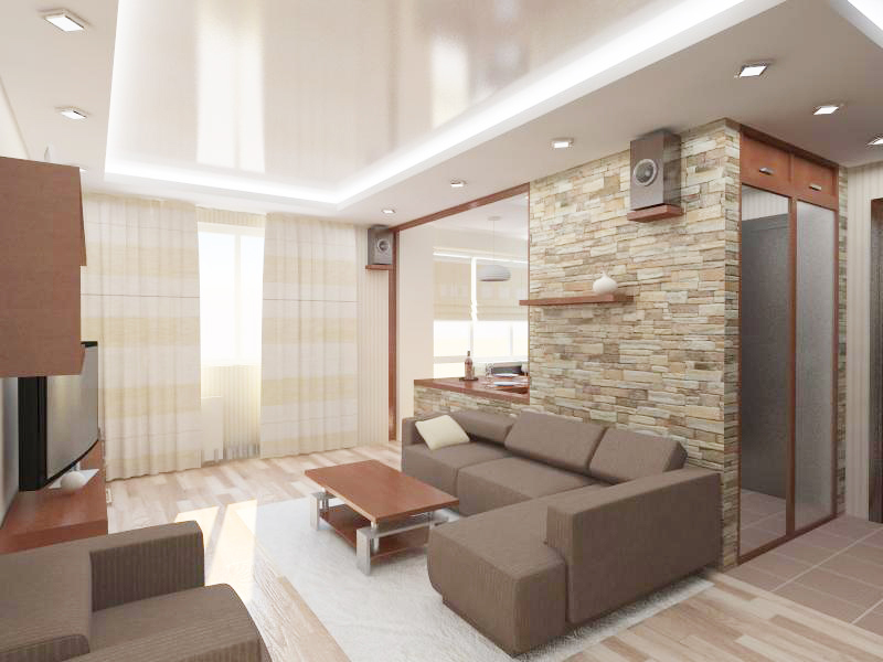 "Современный дизайн 2-х комнатной квартиры "" картинки и фотог."