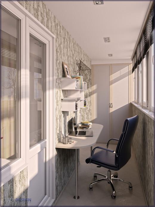 Коридор; холл в стиле современный - фото и дизайн на vivbo.r.