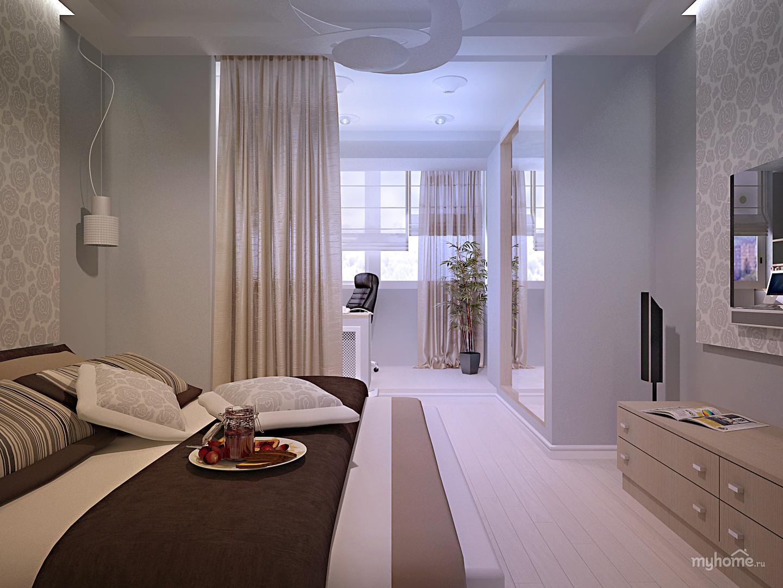 """Дизайн интерьера двухкомнатной квартиры 60 кв.м """" картинки и."""