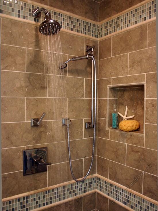 комбинирование кафеля в ванной комнате всего термобелье используют