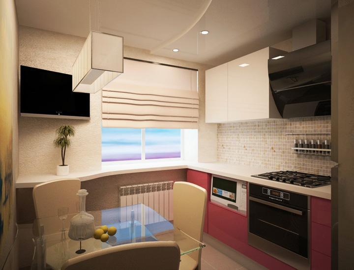дизайн кухни 8 кв.м фото в панельном доме