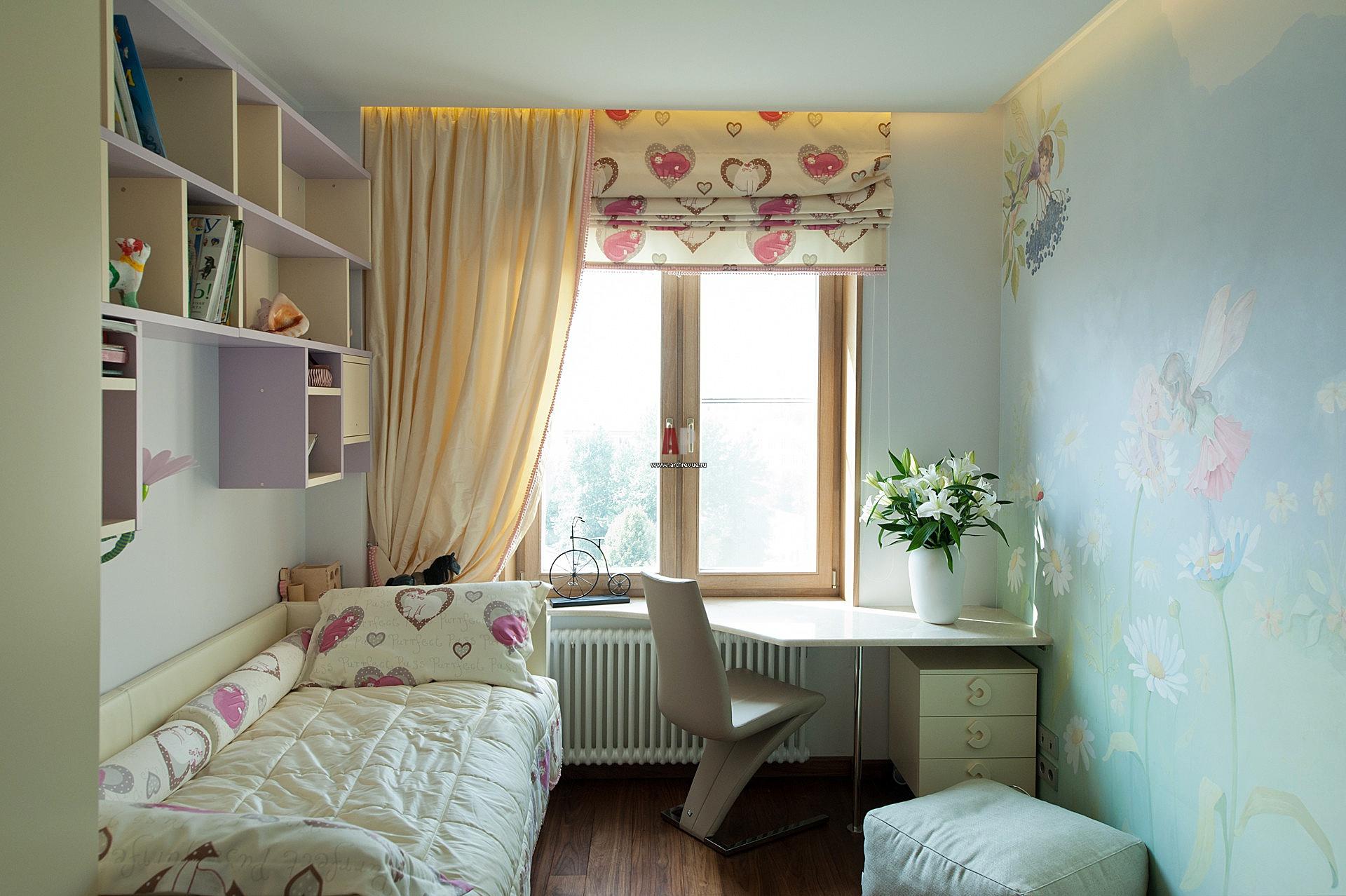 Детская комната 8 кв м дизайн фото