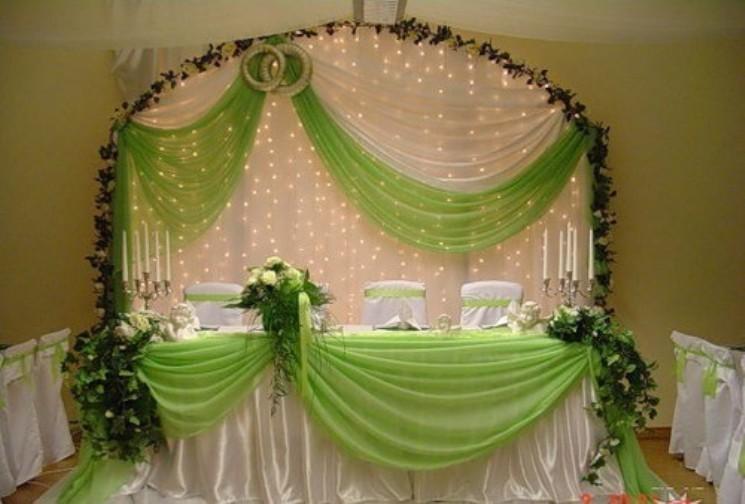 Оформление стола невесты своими руками фото 551