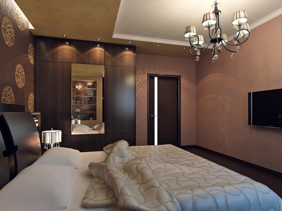спальни реальные фото