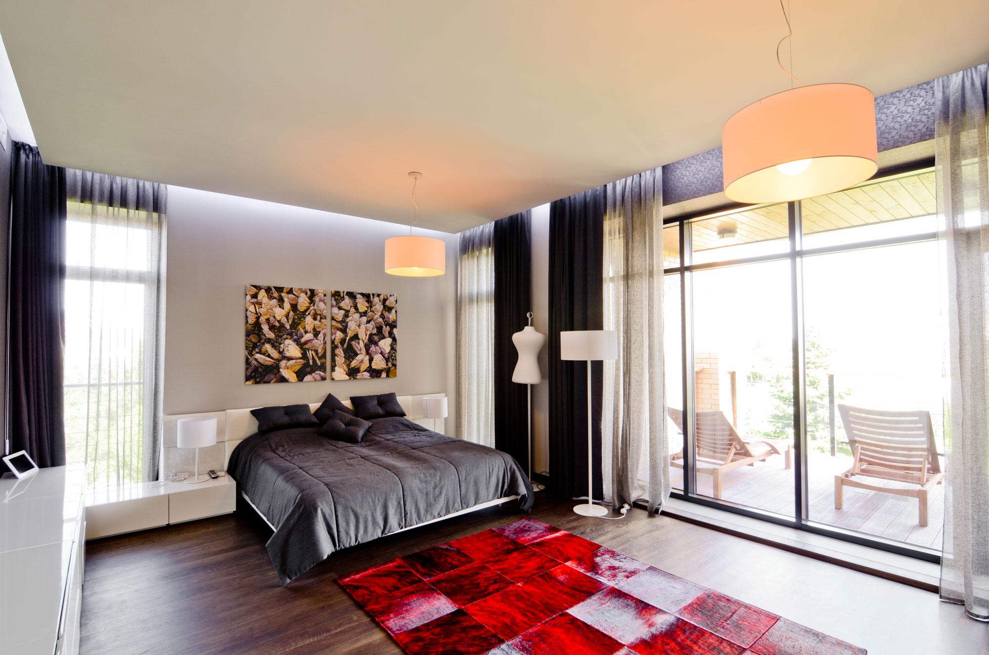 """Дизайн спальни частного дома """" картинки и фотографии дизайна."""