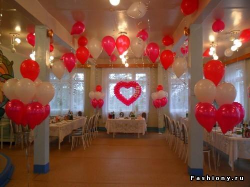 Как своими руками украсить свадьбу шарами фото 178