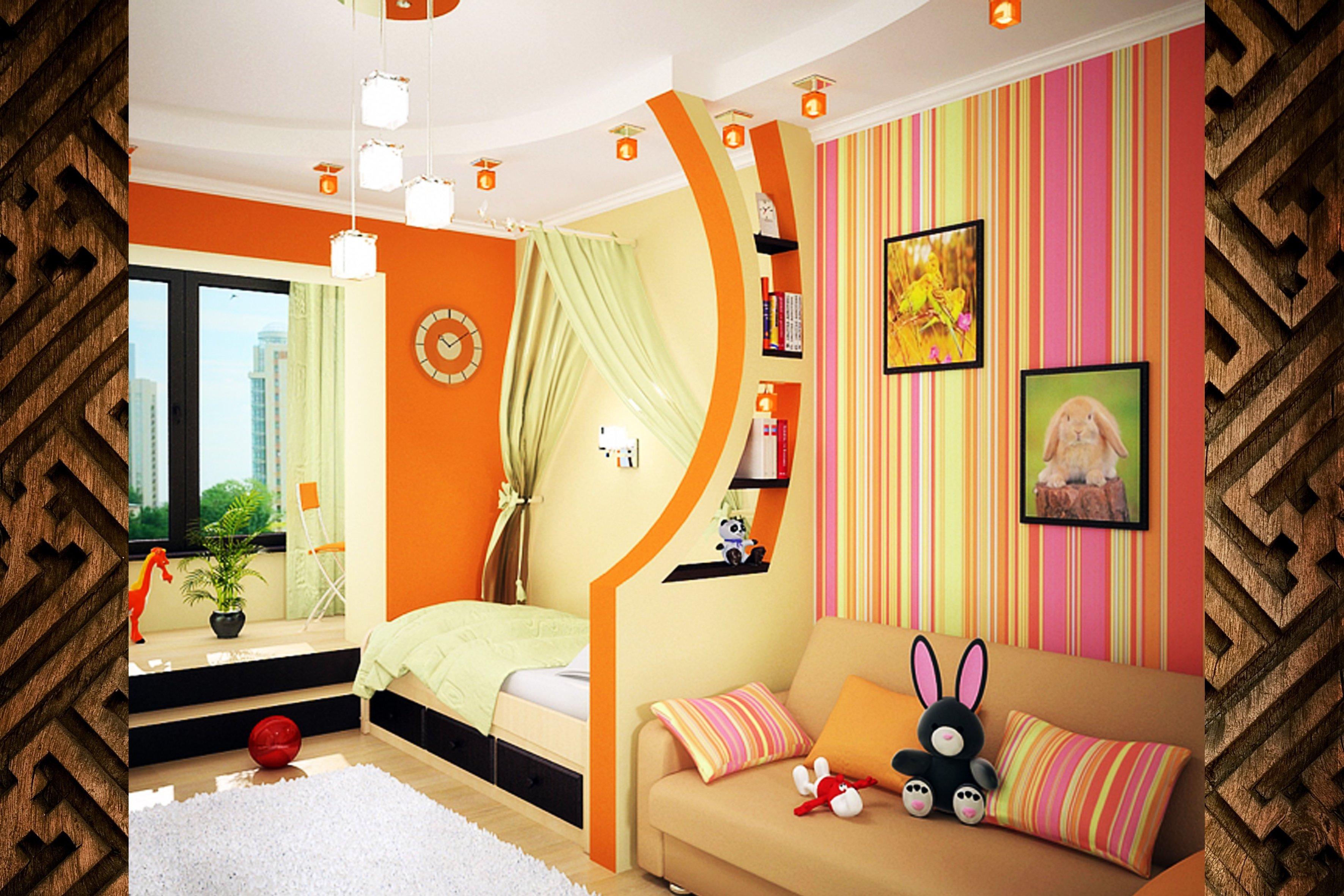 Детские спальни для девочек-подростков.