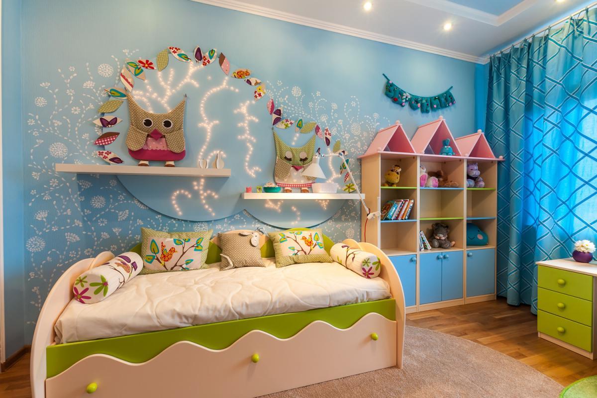 Интерьер для детской комнаты своими руками 45