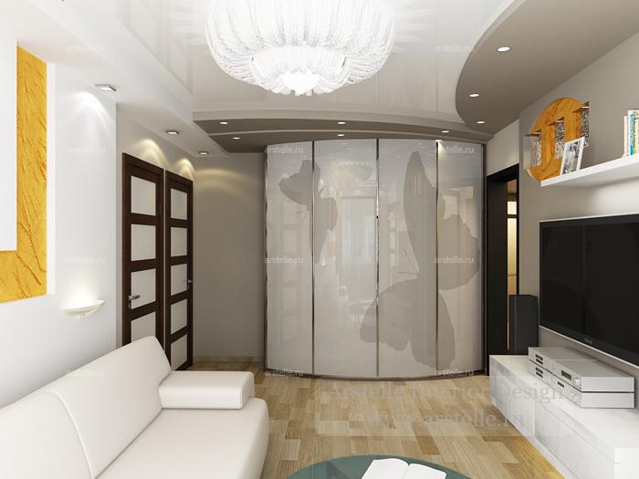 Дизайн 3 комнатной квартиры п-3