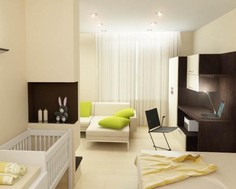 обустроить детскую водноккомнатной квартире лучше оформить