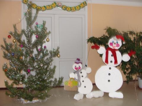 Новогоднее оформление школы своими руками фото фото 453