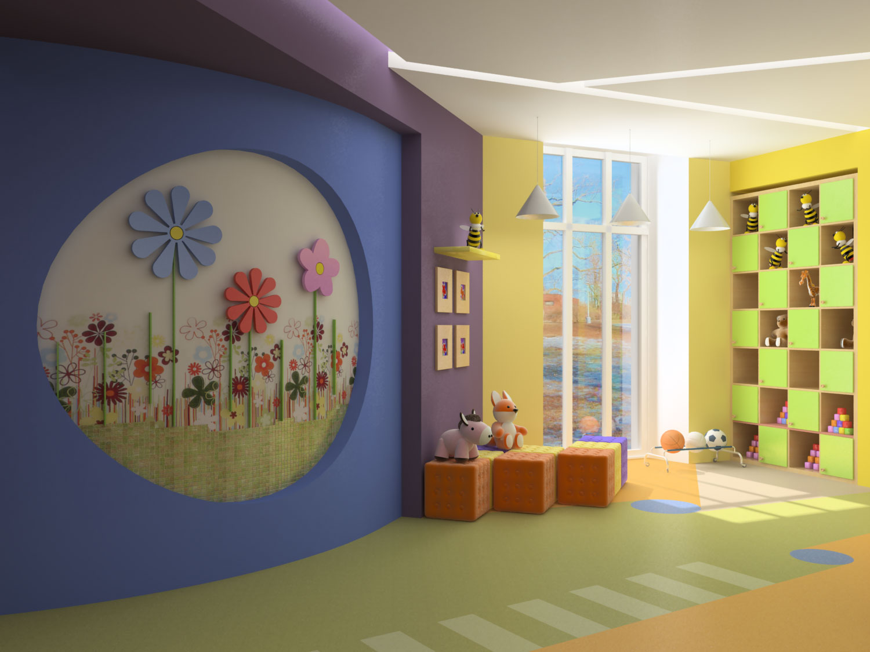 """Как оформить интерьер детского сада """" картинки и фотографии ."""